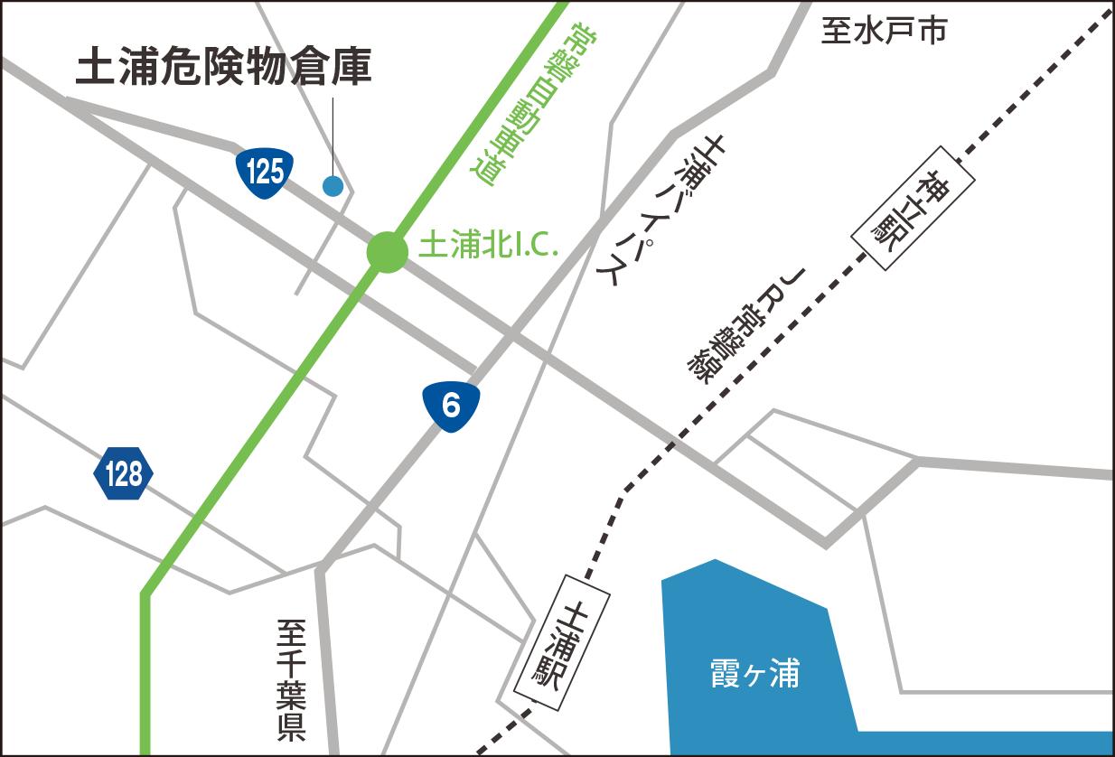 地図_土浦危険物倉庫